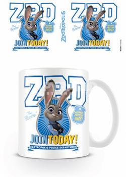Zootropolis Join Today Mug