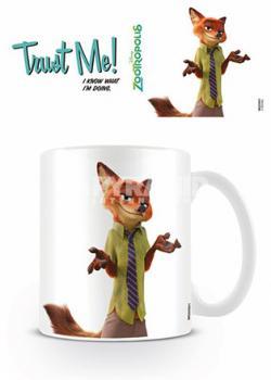 Zootropolis Trust Me Mug