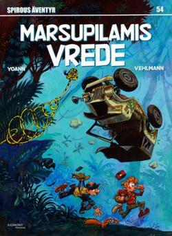 Spirou nr 54: Marsupilamis vrede