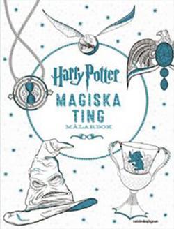 Harry Potter Magiska ting-målarbok