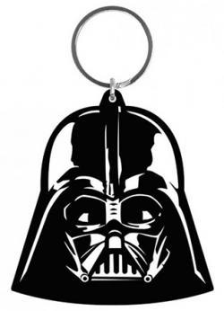 Darth Vader Rubber Keychain