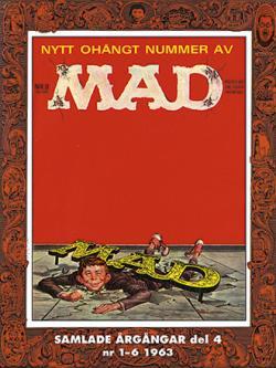Svenska MAD samlade årgångar del 4 1963