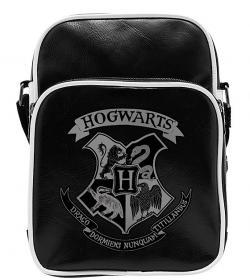 Harry Potter Hogwarts Small Vinyl Bag Black