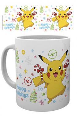 Pokemon Mug XMAS Pikachu