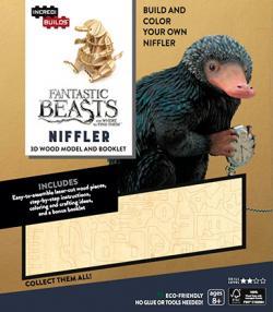 IncrediBuilds: Fantastic Beasts: Niffler book and model
