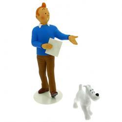 Samlarfigur - Tintin & Milou