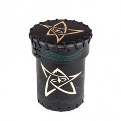 Dice Cup: Call of Cthulhu Black/Green