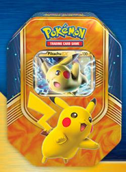 Battle Heart Tin Pikachu