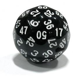 Tärning D60 - 60-sided dice
