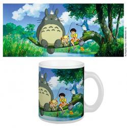 Totoro Mug Fishing