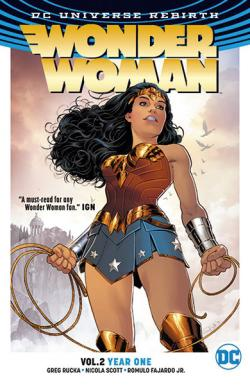 Wonder Woman Rebirth Vol 2: Year One
