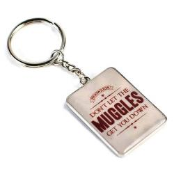 Harry Potter Metal Keychain Muggles 5 cm