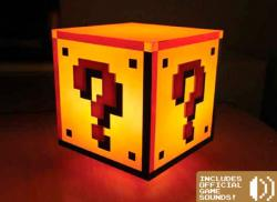 Super Mario Bros. Light Question Block 18 cm