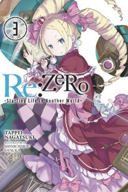 Re: Zero Light Novel 3
