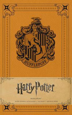 Harry Potter Hufflepuff Ruled Journal
