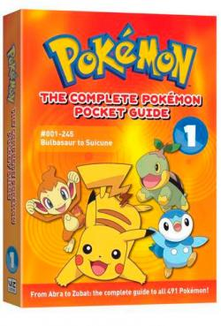 The Complete Pokémon Pocket Guide 1: #1-245 Bulbasaur to Suicune