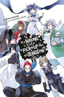 Is It Wrong To Try To Pick Up Girls in a Dungeon Novel 8