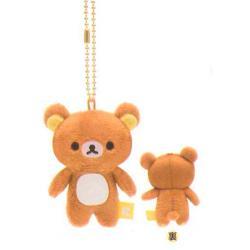 Rilakkuma Plush Mini Hanging: Rilakkuma
