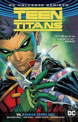Teen Titans Rebirth Vol 1: Damian Knows Best