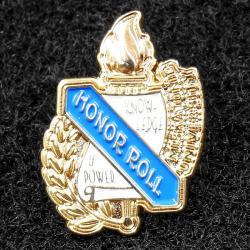 Varsity pin: Honor Roll