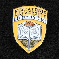Varsity pin: Library Use