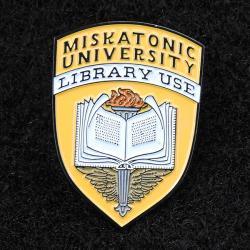 Varsity pin: Library Use