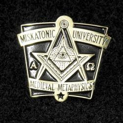 Varsity pin: Medieval Metaphysics