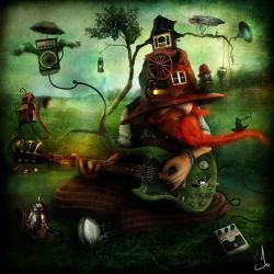 Vykort - The Troubadour