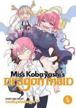 Miss Kobayashi's Dragon Maid Vol 4