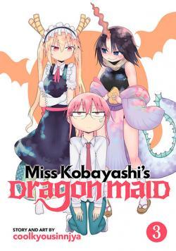 Miss Kobayashi's Dragon Maid Vol 3