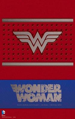 Wonder Woman Ruled Journal