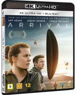 Arrival (2016, 4K Ultra HD+Blu-ray)