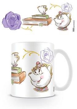 Beauty and the Beast Mug Enchanted Chip and Mrs Potts