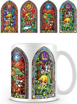 Legend of Zelda Wind Waker Mug Stained Glass