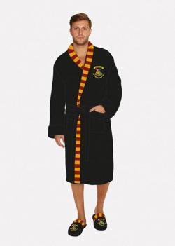Harry Potter Fleece Bathrobe Hogwarts