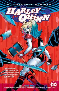 Harley Quinn Rebirth Vol 3: Red Meat