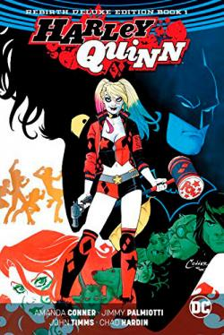 Harley Quinn Rebirth Deluxe Collection Book 1