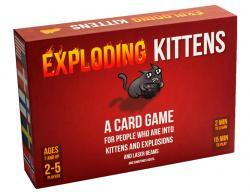Exploding Kittens Original Edition (Skandinavisk utgåva)