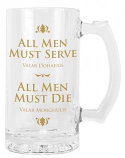 Glass Tankard: All Men Must Serve, All Men Must Die