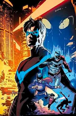 Nightwing Rebirth Deluxe Collection Book 1