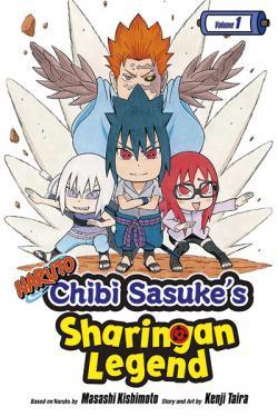 Naruto Chibi Sasuke's Sharingan Legend Vol 1