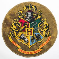 Harry Potter Round Doormat Hogwarts Crest 61 cm