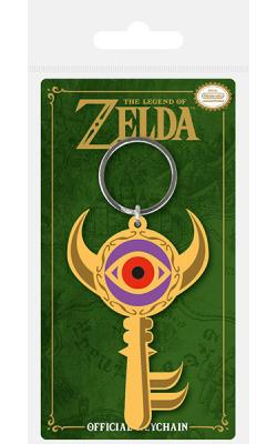 Legend of Zelda Rubber Keychain Boss Key 6 cm