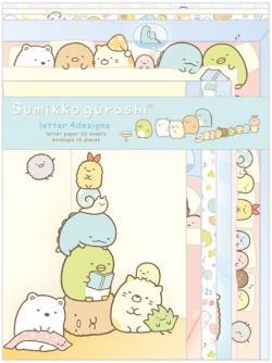 Sumikkogurashi Letter Set: This is Calm