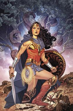 Wonder Woman Rebirth Vol 4: Godwatch