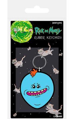Rubber Keychain Mr. Meeseeks 6 cm