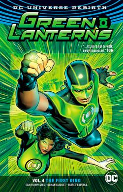 Green Lanterns Rebirth Vol 4: The First Rings
