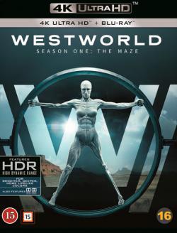 Westworld, säsong 1 (4K Ultra HD+Blu-ray)