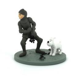 Figur - Tintin i rustning