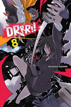 Durarara Light Novel Vol 8